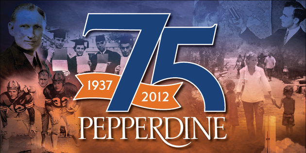 1937-2014, Pepperdine University 75th Anniversary