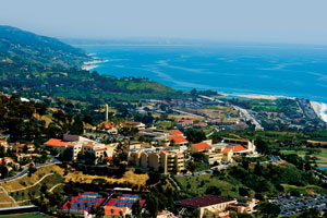 Pepperdine and the Malibu coast - Pepperdine University