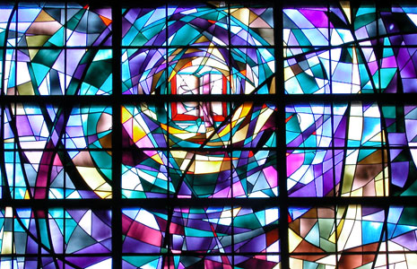 Stauffer Chapel Stained Glass - Pepperdine University