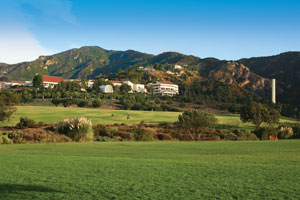 Malibu campus bluffs near Pepperdine University