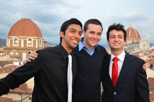 Pepperdine international program students in Florence, Italy
