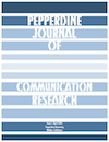 Pepperdine Journal of Communications Research (Communications) - Pepperdine University