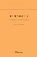 Philosophia journal cover