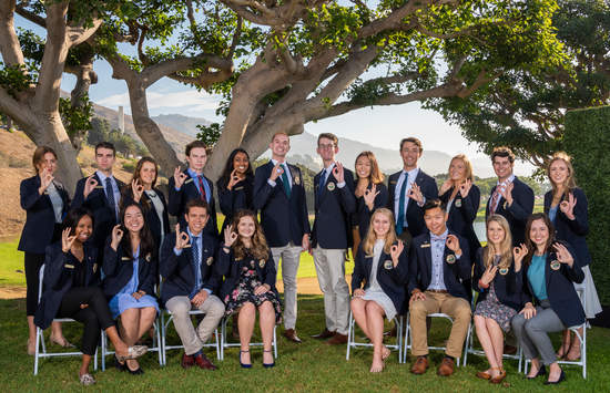 Members of the Pepperdine Ambassadors Council (PAC) - Pepperdine University