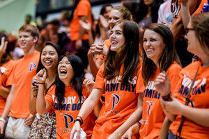 Seaver College students at a sporting event - Pepperdine University