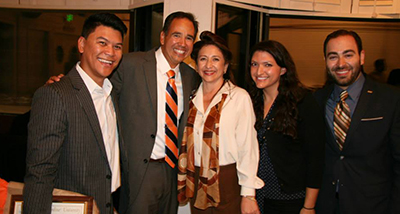 """Members of the Hispanic Alumni Council - Pepperdine University """