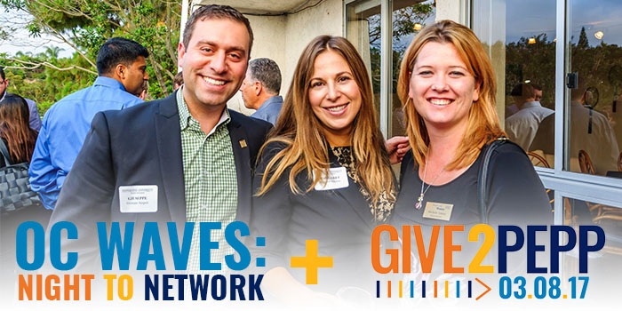 OC Waves: Night to Network + Give2Pepp