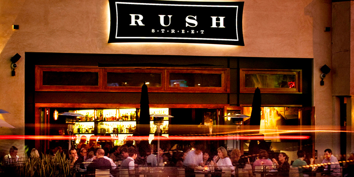 Rush Street restaurant in Los Angeles - Pepperdine University