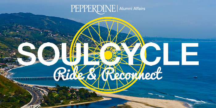 SoulCycle Ride and Reconnect event logo - Pepperdine University
