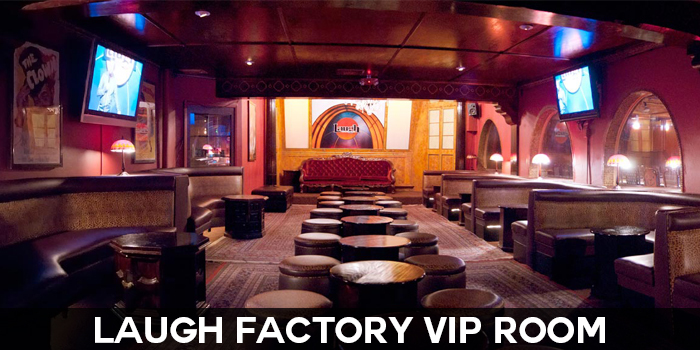 Sunset Strip Laugh Factory showroom - Pepperdine University