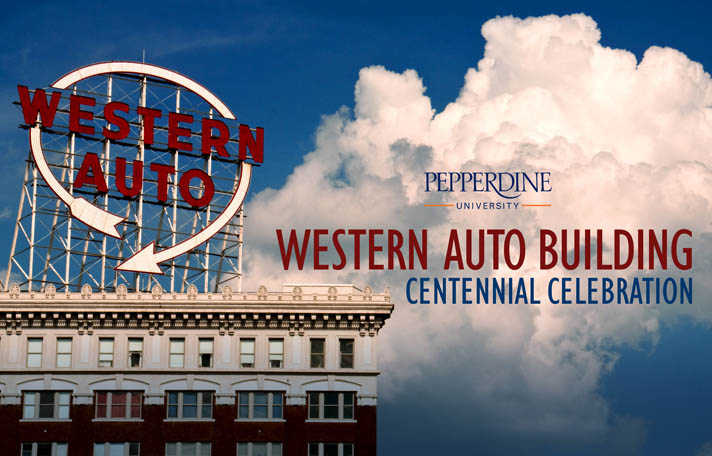 The Western Auto Building in Kansas City - Pepperdine University