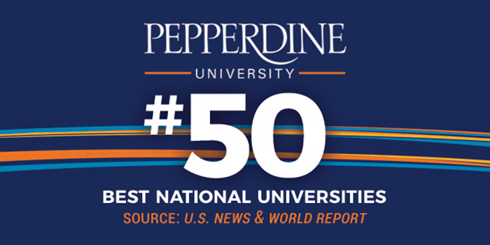 My chances of being accepted at pepperdine?