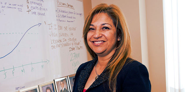 Betty Uribe ('00, EDD '12)