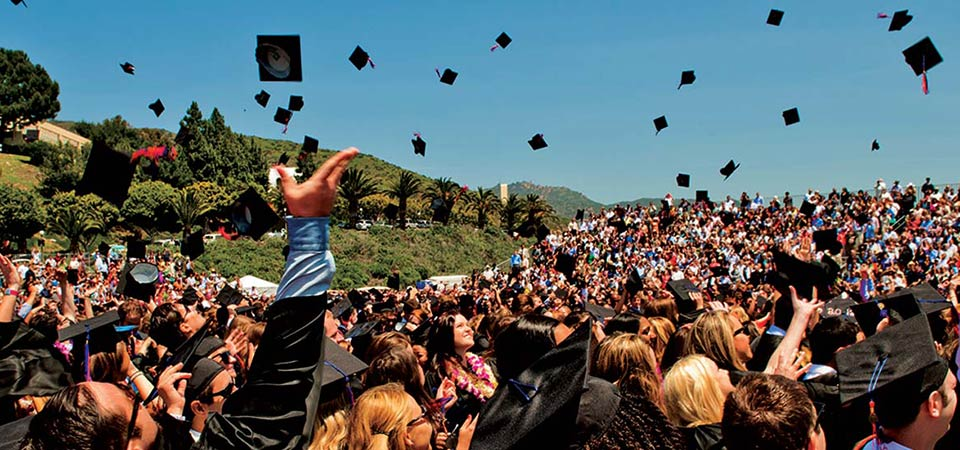 Seaver College commencement celebration - Pepperdine University