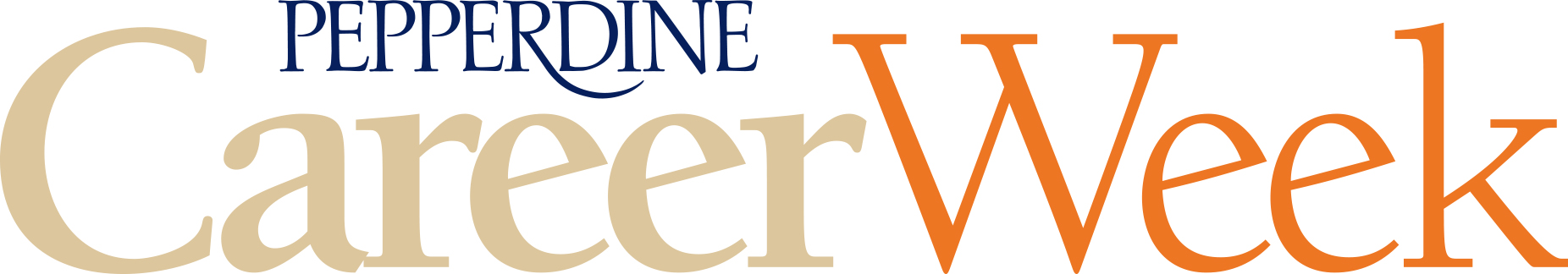 Career Week wordmark - Pepperdine University