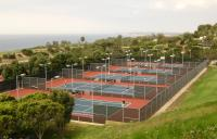 Crest tennis courts - Pepperdine University