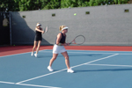 Doubles tennis - Pepperdine University