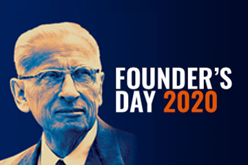 Founder's Day promo graphic