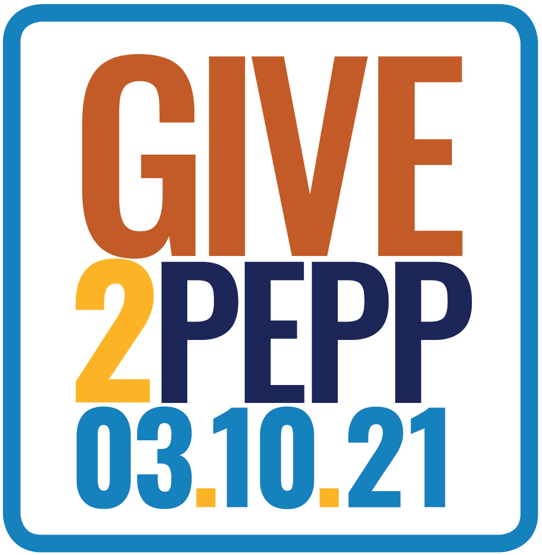 Give2Pepp 2021 logo