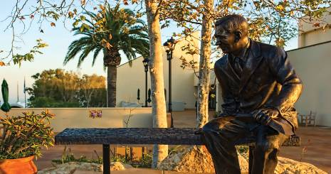 Pepperdine - George Pepperdine Statue