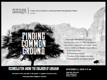 Finding Common Ground ad - Pepperdine University
