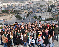 Students in Israel - Pepperdine University