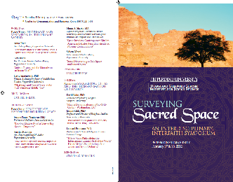 Surveying Sacred Space: An Interdisciplinary, Interfaith Symposium - Pepperdine University