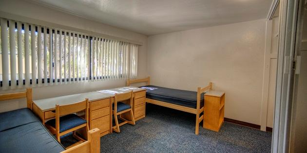 Residence Hall bedroom - Pepperdine University