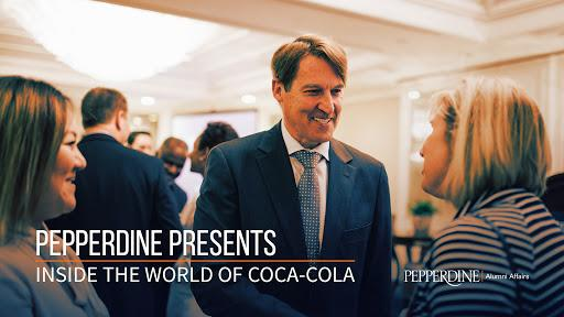 You are invited to a Pepperdine-exclusive visit to the World of Coca-Cola with special guest Dean Deryck J. van Rensburg.