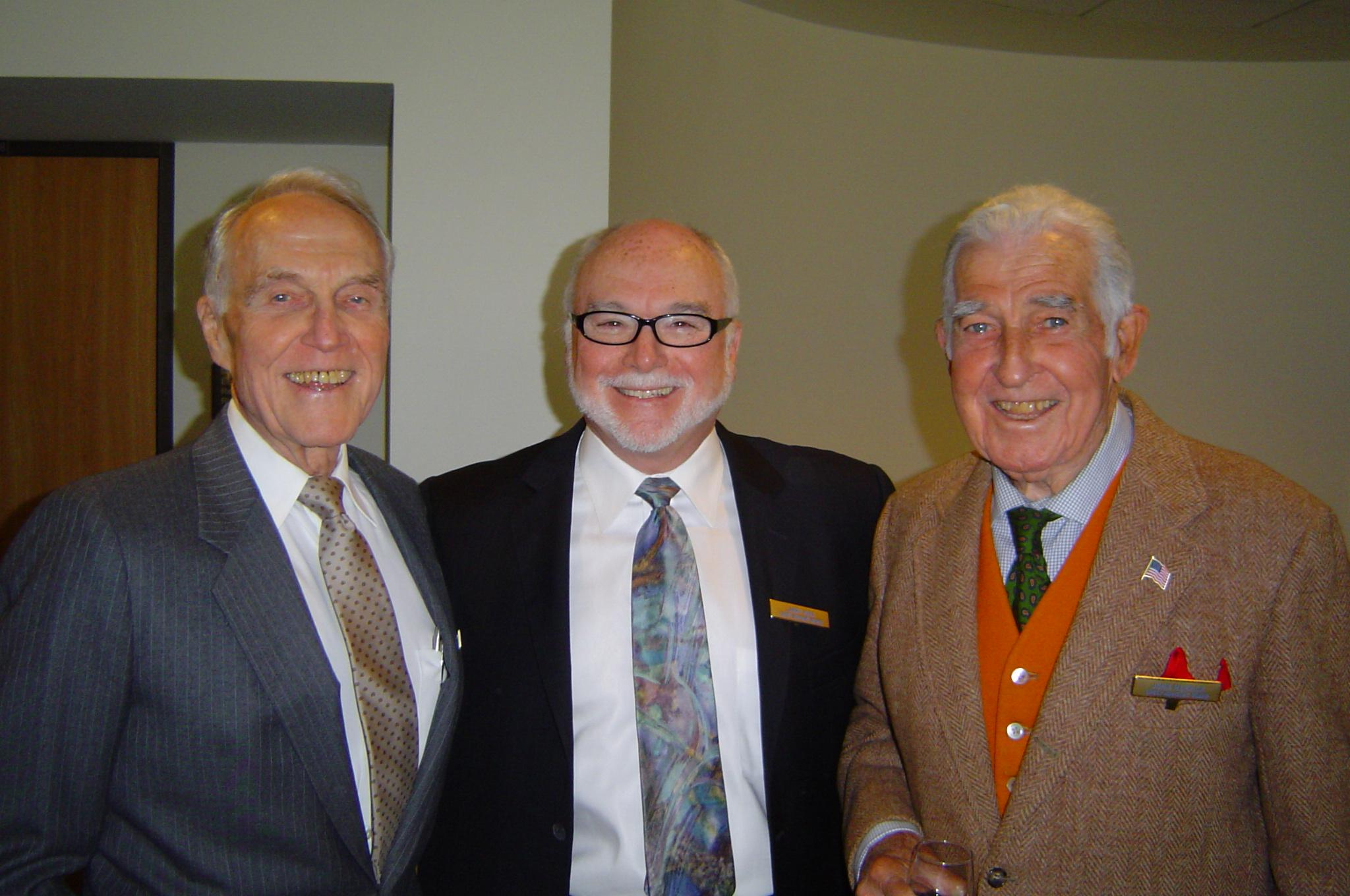 Crest Board members Bob McIntosh, Larry Mira, and John Merrick