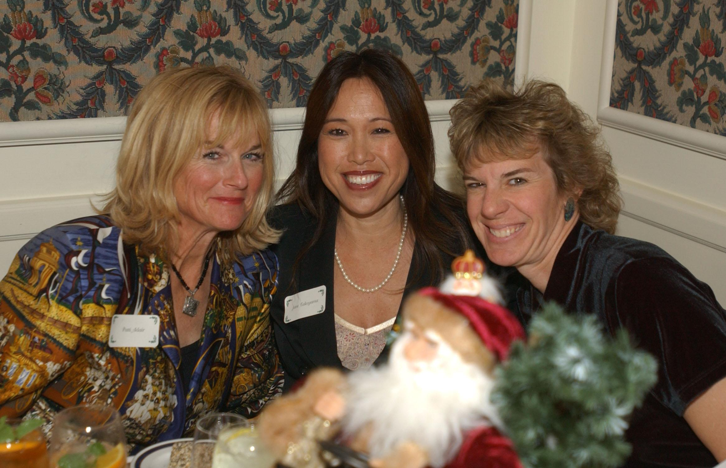 Crest Board members Patti Adair, Jane Takeyama, and Heidi Bernard