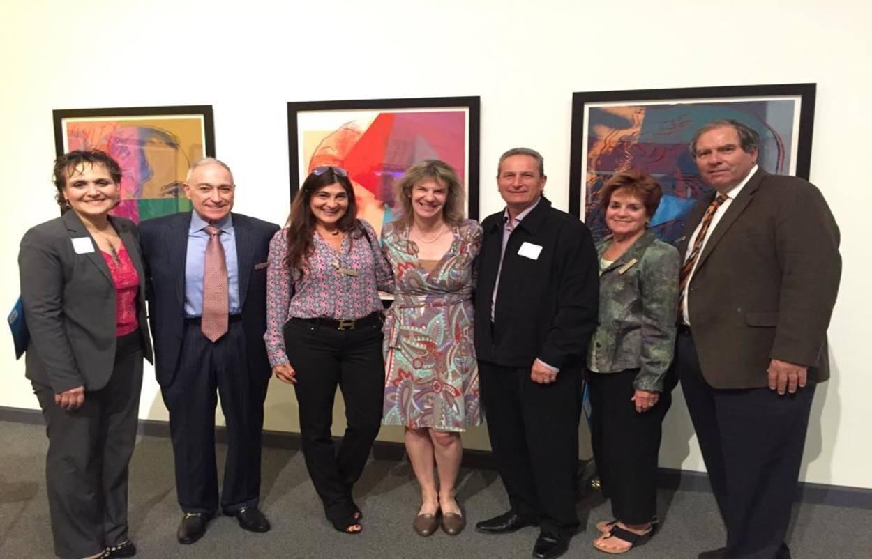 Heidi Bernard, Ani and Raffi Dermenjian, Lou Drobnick - Pepperdine University Crest Advisory Board Members