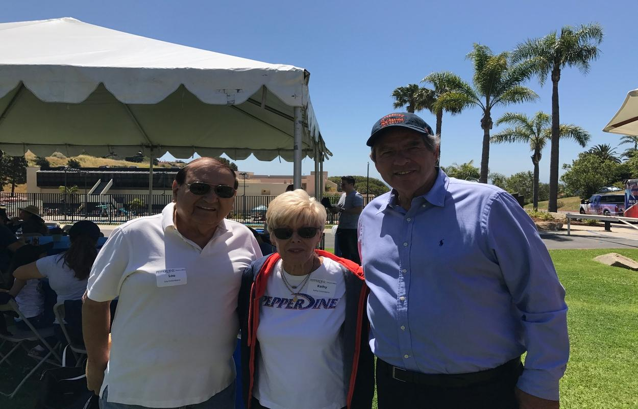 Lou Drobnick, Lou Colombano - Pepperdine University Crest Advisory Board Members