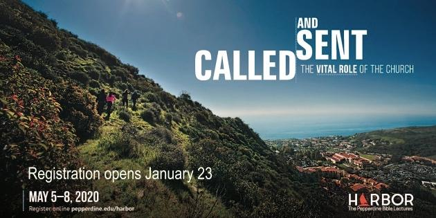 Harbor 2020 theme - Called and Sent: The Vital Role of the Church (Registration opens January 23, 2020)