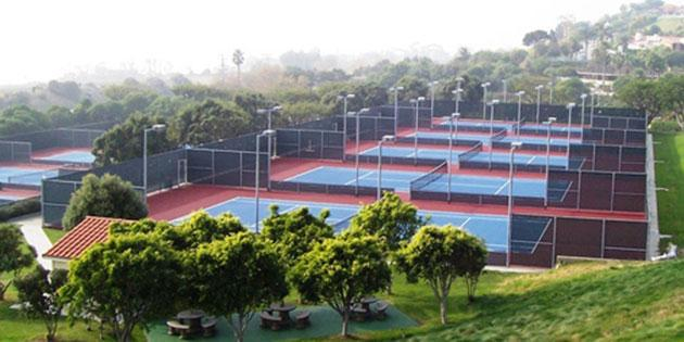 University Tennis Courts (10 tennis courts at PCH & John Tyler Drive) - Pepperdine University