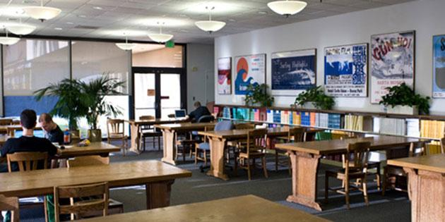 Kresge Reading Room, Payson Library Main Campus