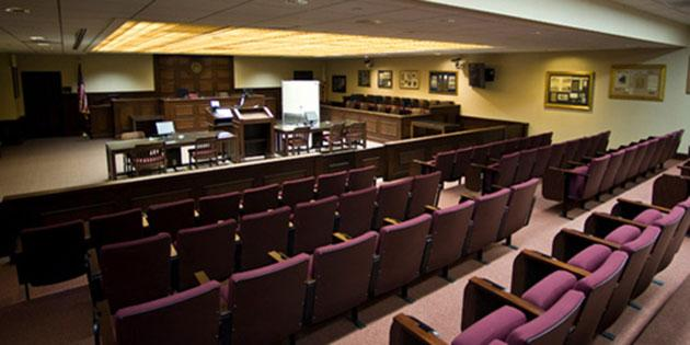 Trial Courtroom School of Law