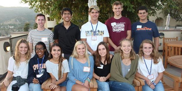 2017-2018 class of PLP Scholars - Pepperdine University