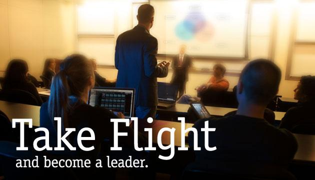 Take Flight and become a leader.