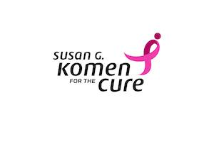 Logo of Susan G. Komen for the Cure