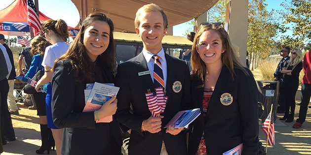 Pepperdine Ambassadors Council students in action
