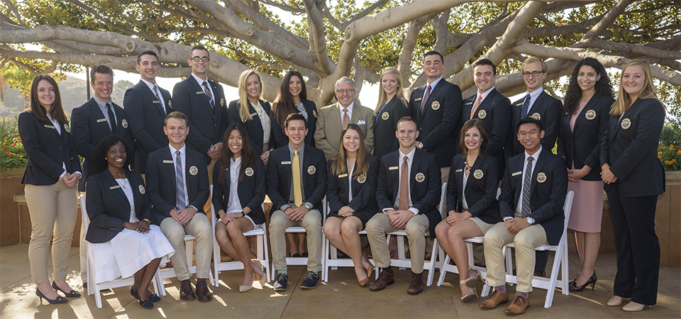 Pepperdine Ambassadors Council group photo - Pepperdine University