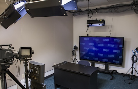 Broadcast studio room
