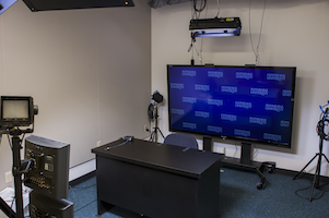 Pepperdine broadcast studio