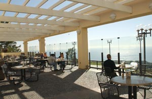 Fresh air and stunning views from adjacent patio - Pepperdine University