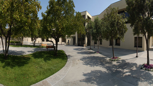 Payson Library courtyard (main campus)
