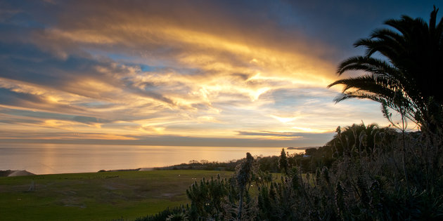 Alumni Park at daybreak - Pepperdine University