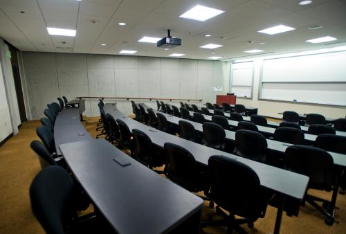 Meeting facilities inside classrooms - Pepperdine University
