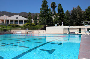 Raleigh Runnels Memorial Pool - Pepperdine University