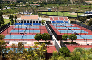 Ralphs-Straus Tennis Center - Pepperdine University